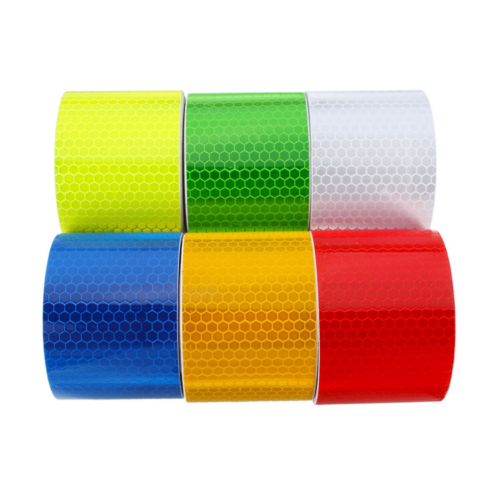 Reflective Sticker Car Safety Warning 1pc Self-adhesive Tape 3m