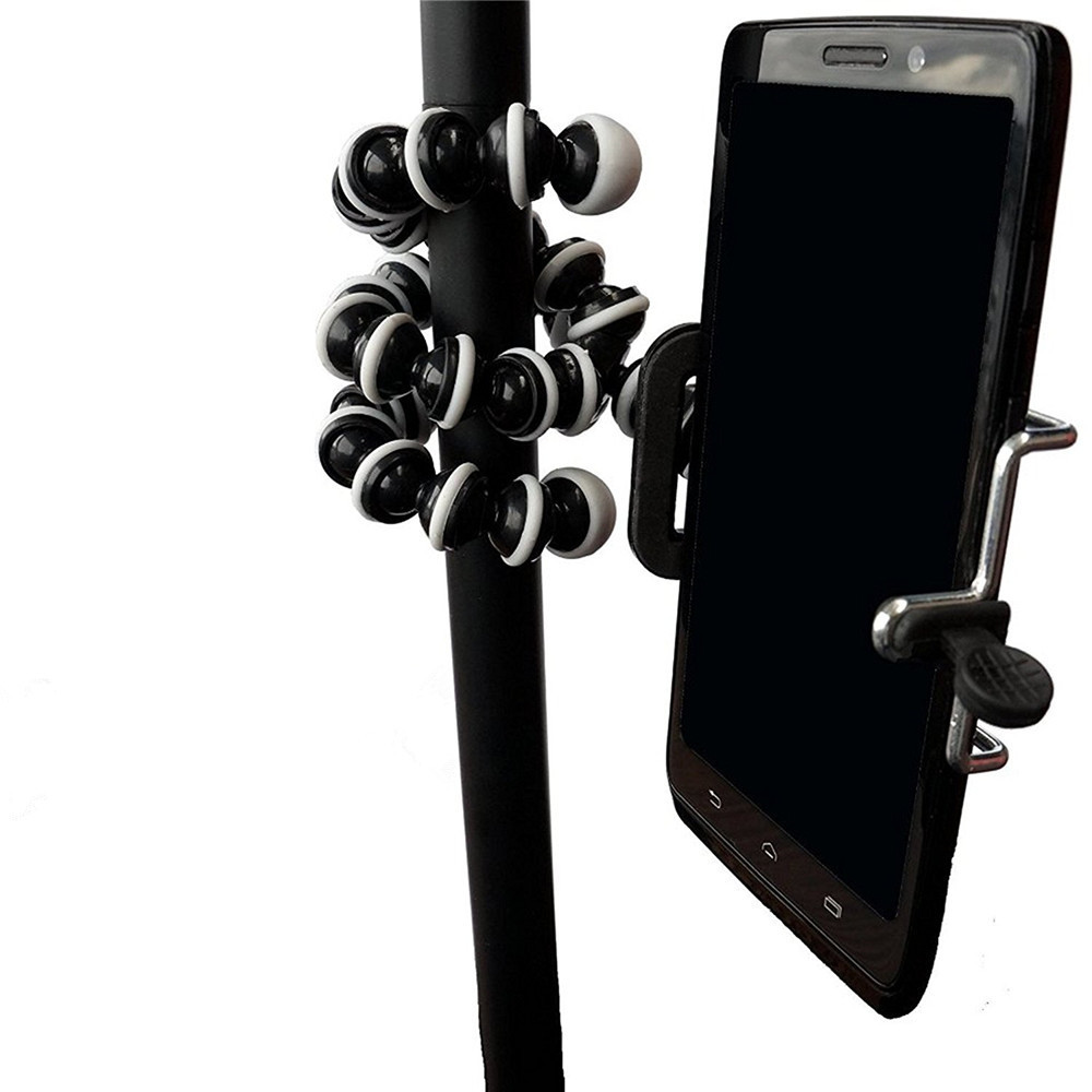 gocomma Small Light Universal Tripod Mount Phone Holder for Smartphones