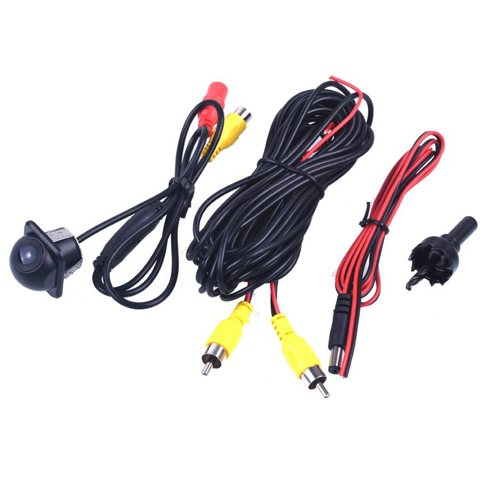 ZIQIAO CCD HD Rearview Waterproof Night Vision  Reversing Backup Camera