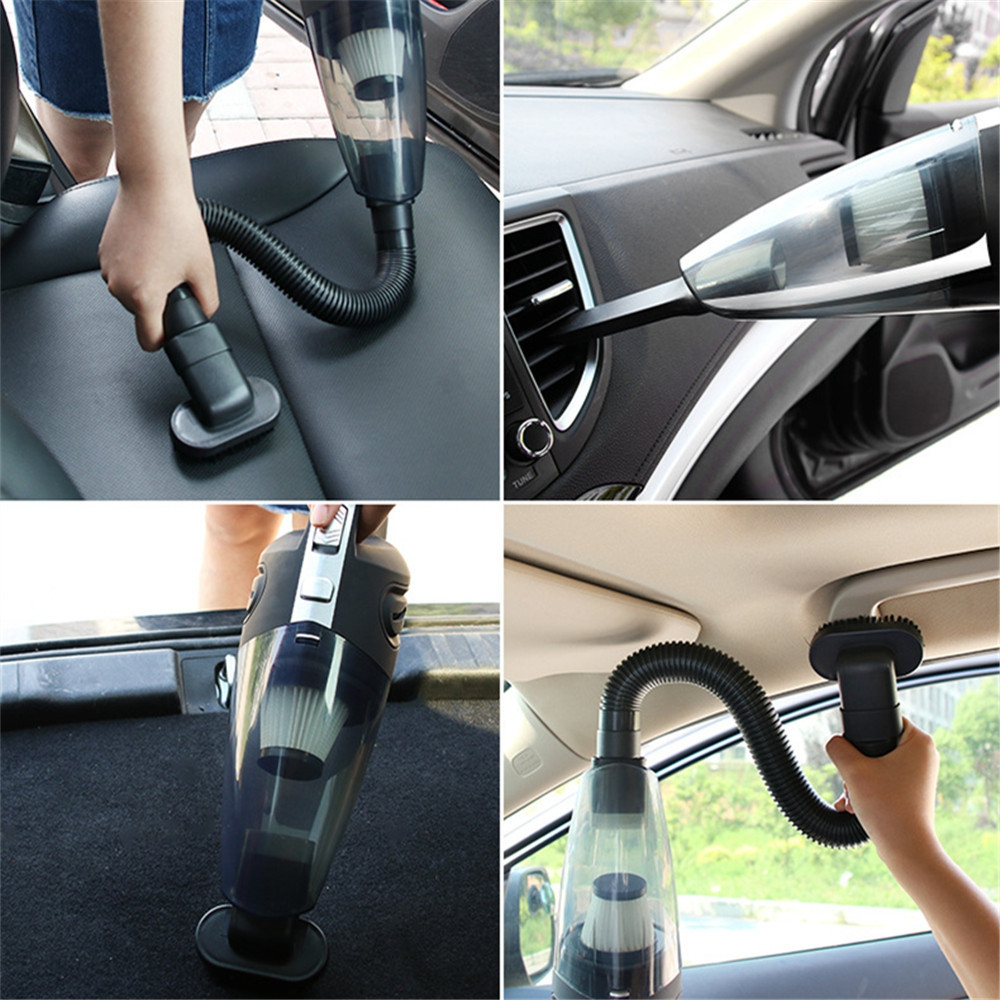 Wireless Car Vacuum Cleaner Dry Wet Dual-Use Household Hand-held