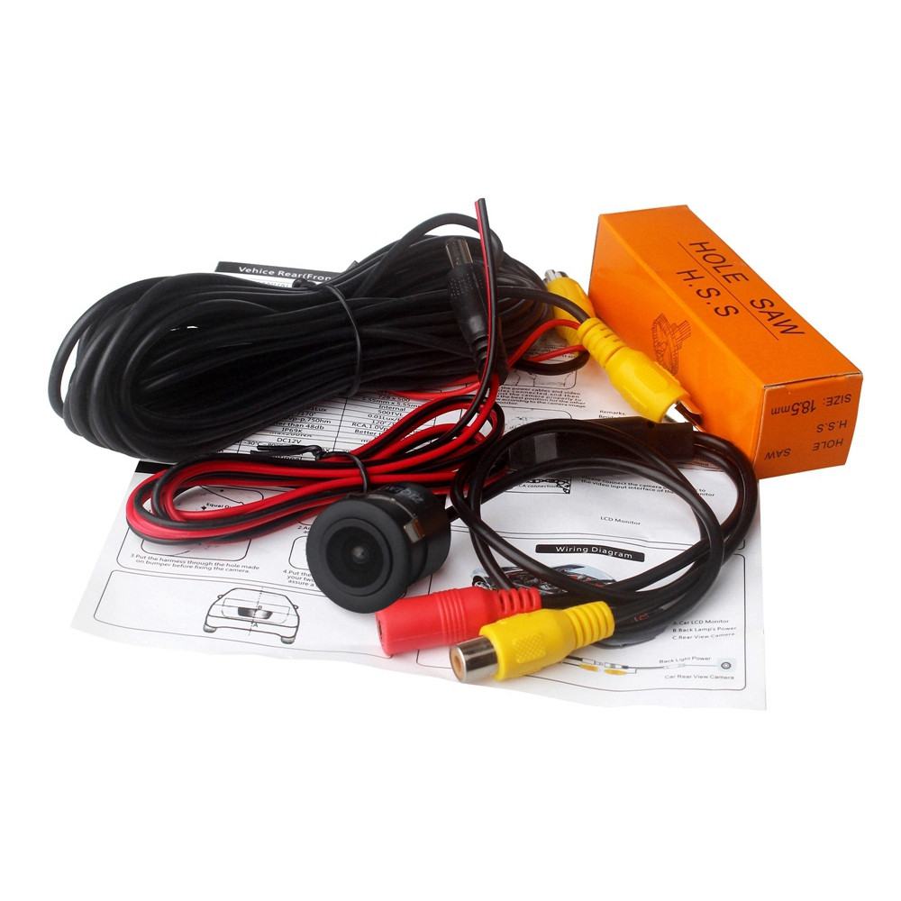 ZIQIAO ZHS - 016 HD CCD Waterproof Car Reversing Rearview Camera