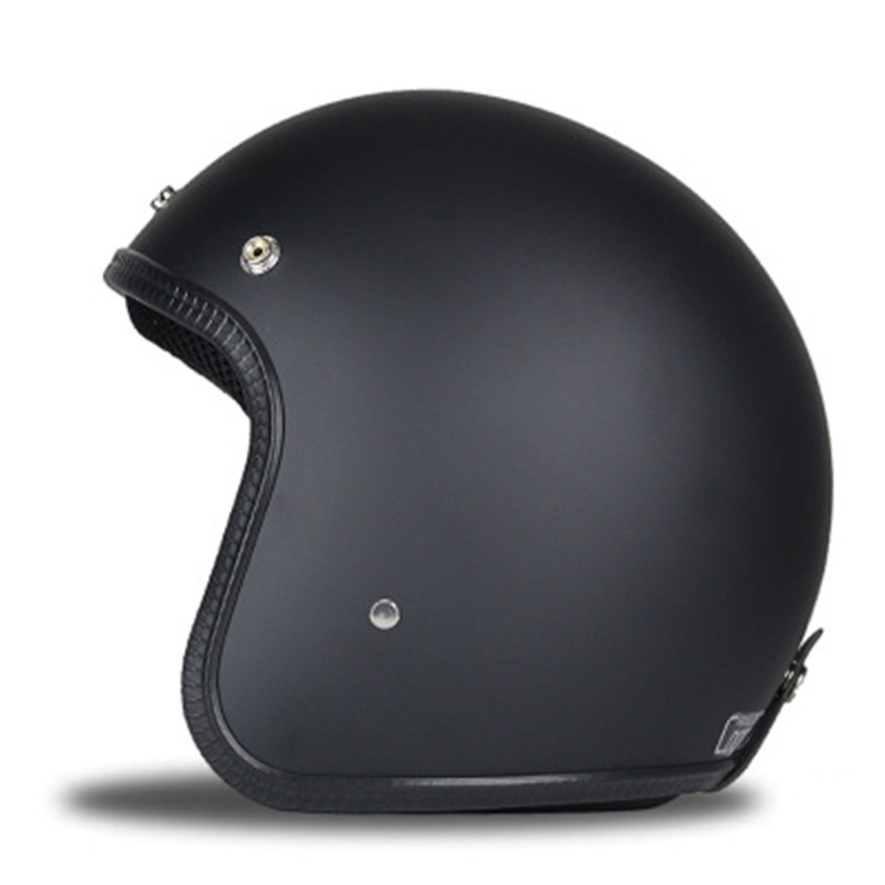 Motorcycle Manual Individual Motor Vehicle Leather Helmet