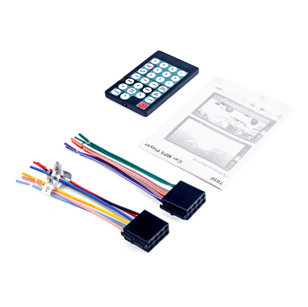 7018B 7 inch Car Multimedia MP5 Player Bluetooth FM Radio Tuner