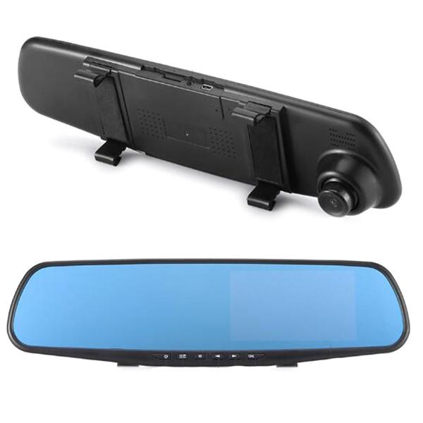 4.3 inch 1080p Dual Lens Reversing Driving Recorder