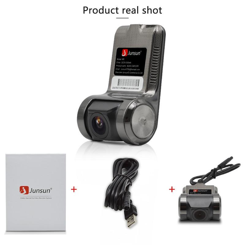 Junsun S500 ADAS Mini Auto DVR Kamera Full HD 1080 p LDWS Auto Digital Video Rec