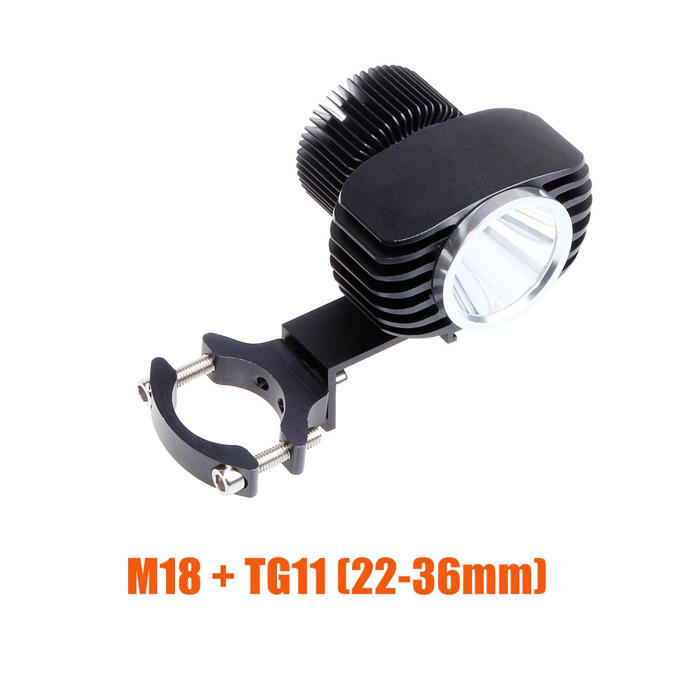 BOSMAA 18W 2700LM Motorcycle LED Headlight Spotlight For Motor Car Fog Light DRL