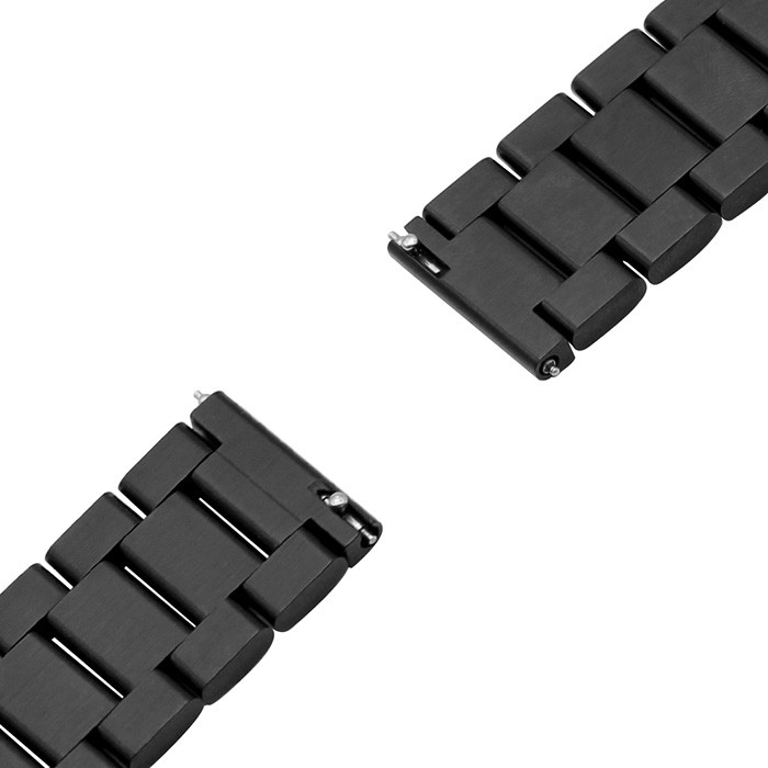 22mm Stainless Steel Replacement Accessory Watch Band Wrist Strap Bracelet for Xiaomi Huami Amazfit Stratos Smart Watch 2 / 2S