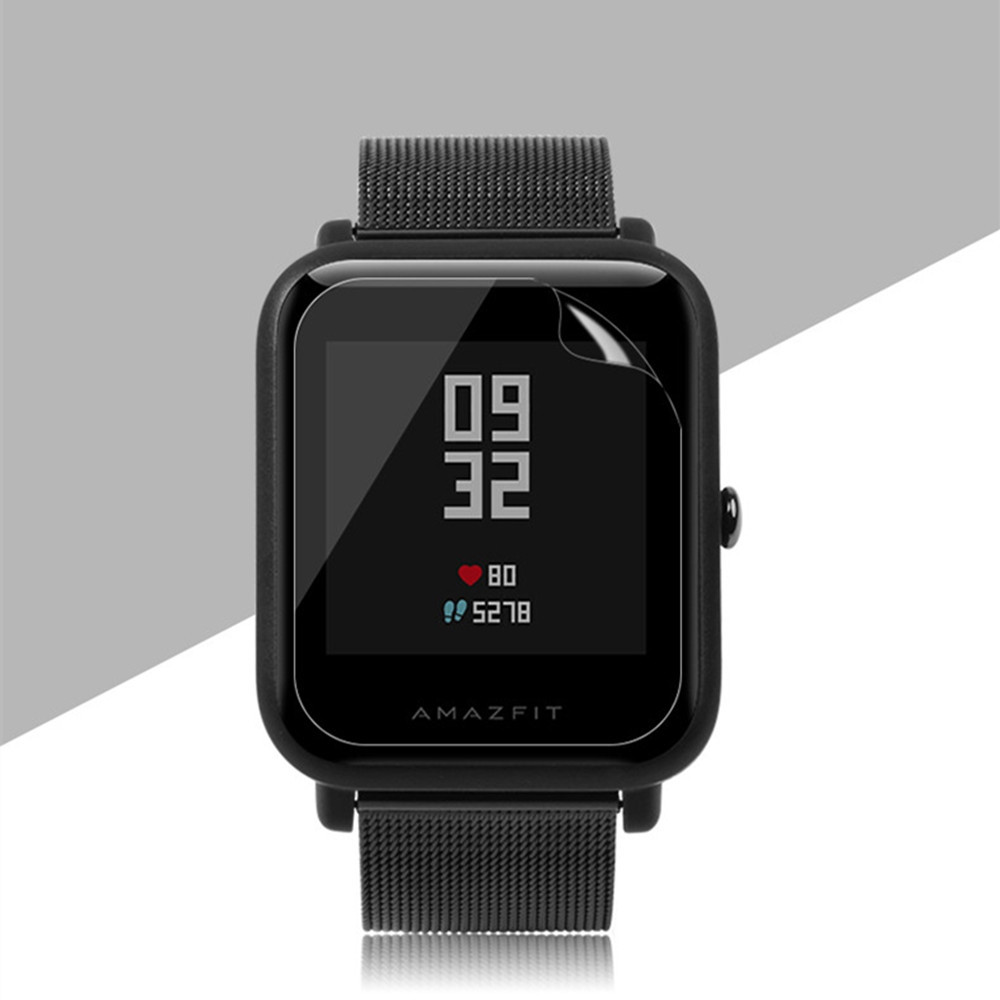 TAMISTER Soft TPU Screen Protector Film for Xiaomi Huami Amazfit Bip Lite Smartwatch 5pcs