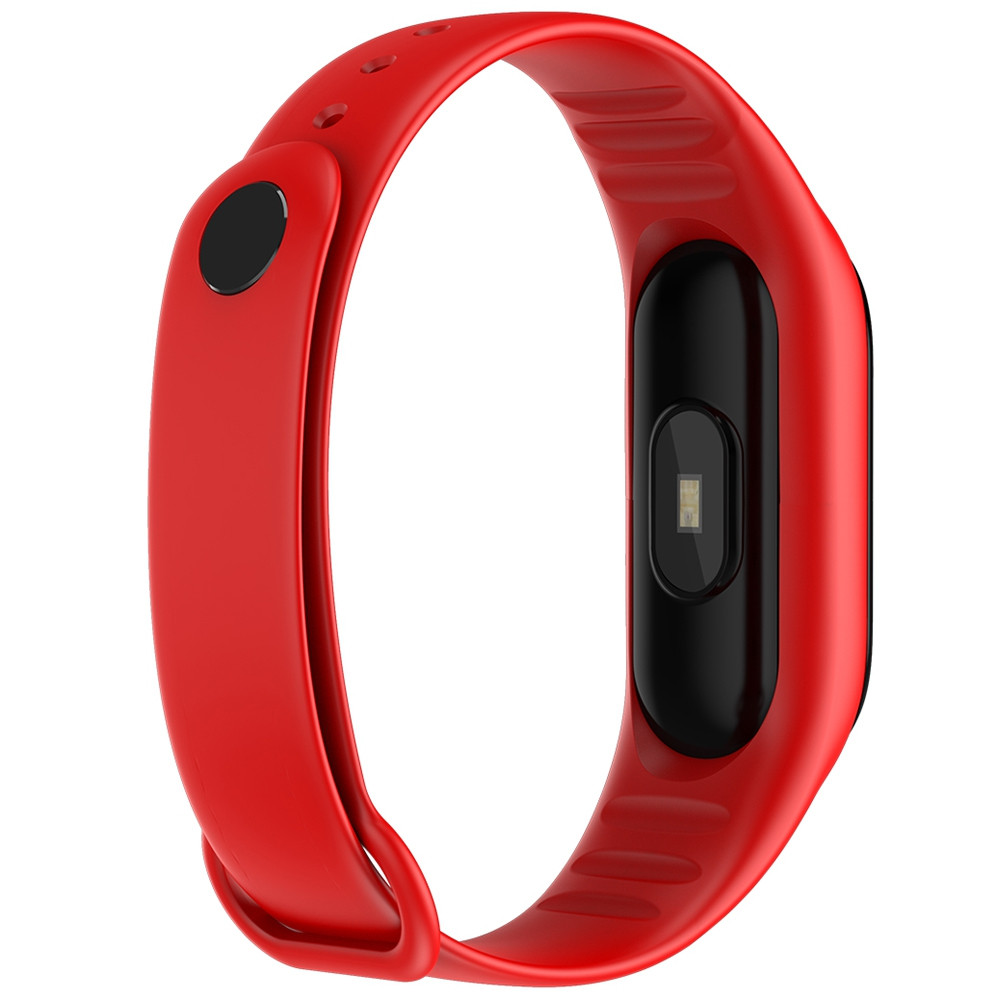 M3PLUS 0.96 inches Smart Bracelet Bluetooth 4.0 Heart Rate Monitoring Blood Pressure Functions
