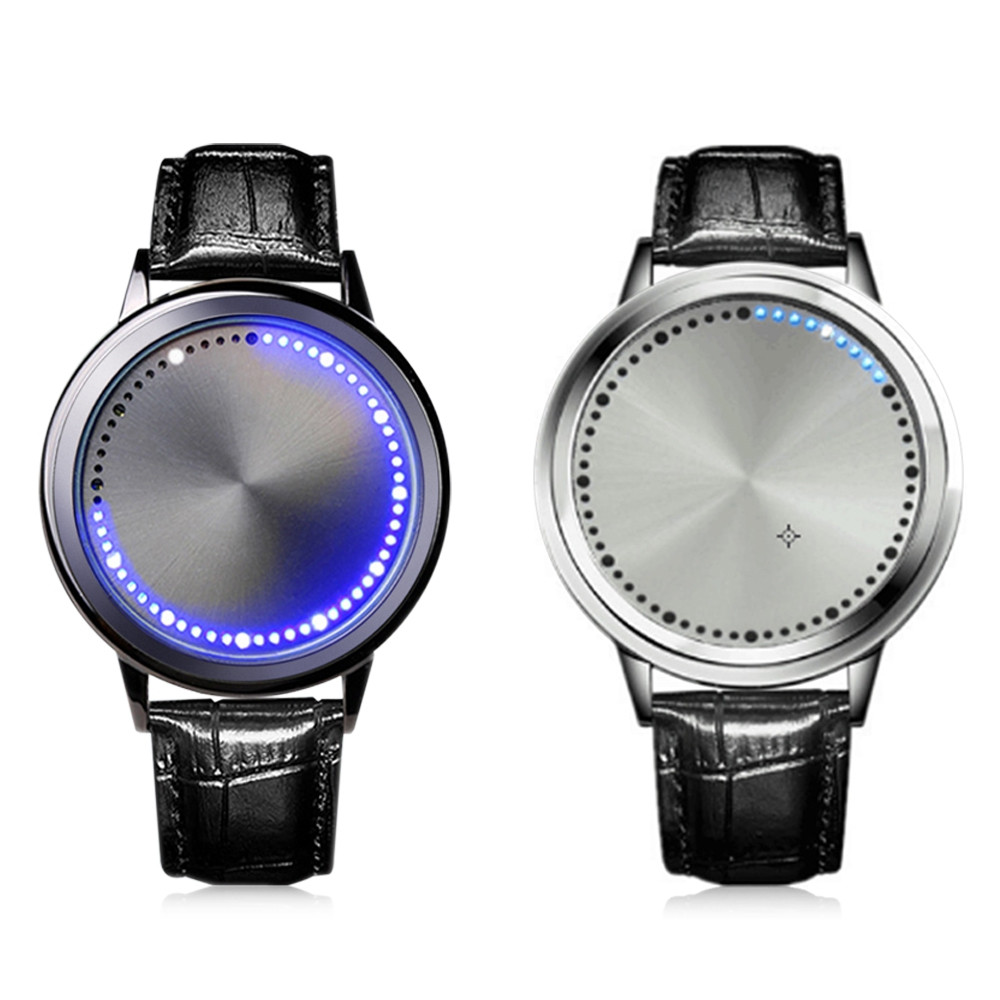 AA8 Smart Creative LED Luminous Touch Screen Watch
