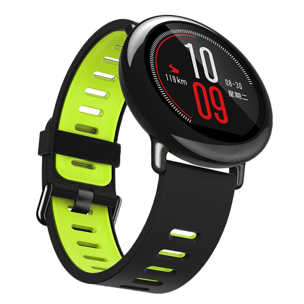 22MM Silicone Watch Band Strap for Xiaomi Huami Amazfit Pace Stratos 2 Watch