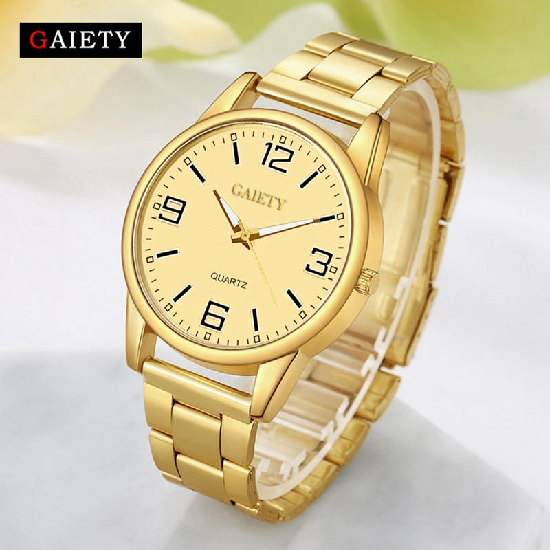 GAIETY G111 New Arrive Fashion Luxury Classic Stainless Steel Watch Women