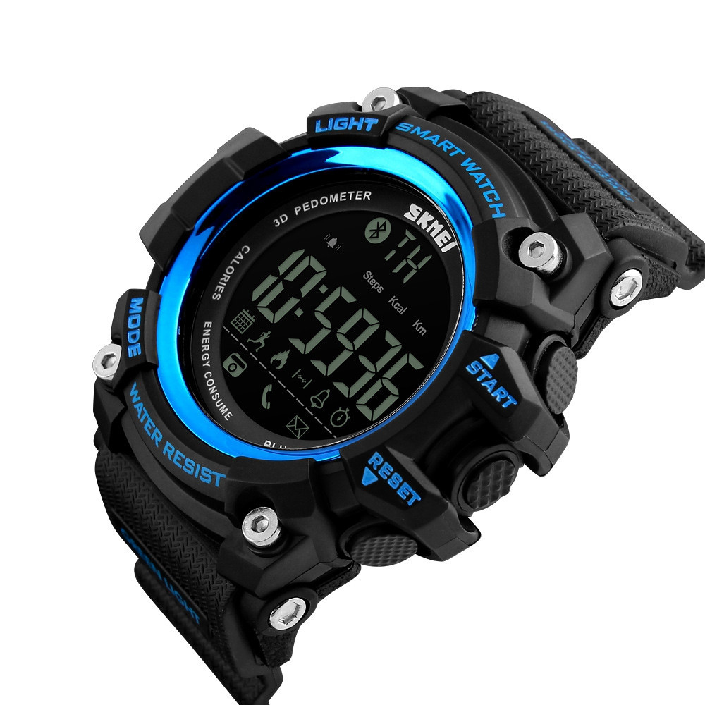 Bluetooth Smart Pedometer Reminder Support Sports Electronic Watch