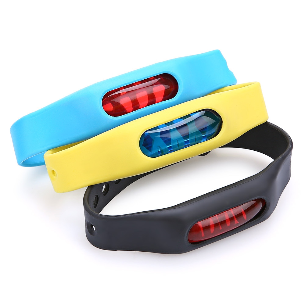 Adjustable Silicone Band Mosquito Repellent Wristband