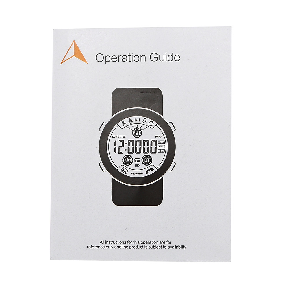 AOWO X7 24 Months Standby Time 50m Waterproof Sports Management Smart Watch for iOS / Android Phones