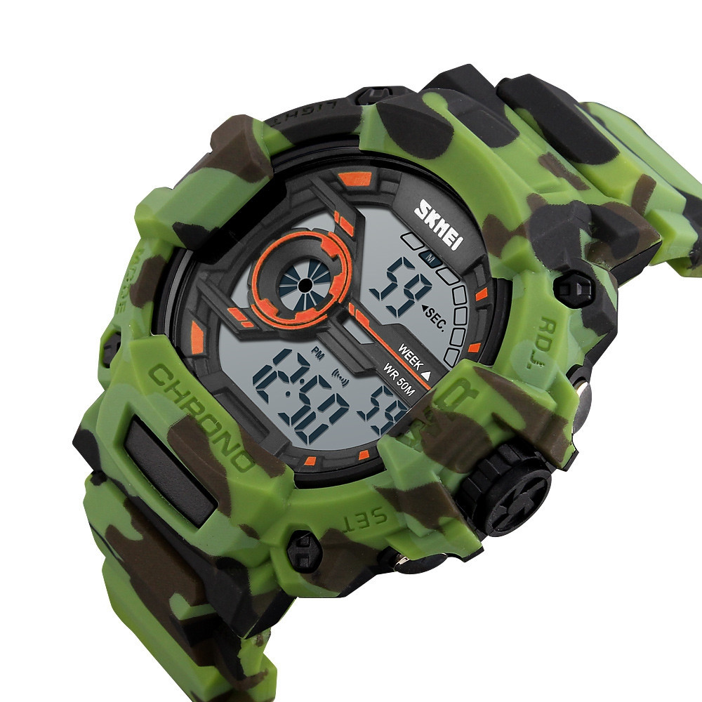 Fashion Waterproof Sports Electronic Watch