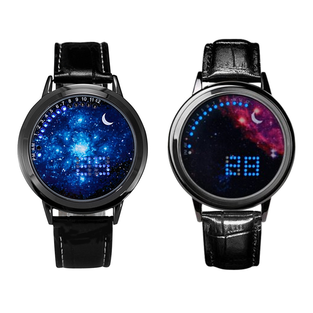 AA9 Smart Simple LED Luminous Touch Screen Watch
