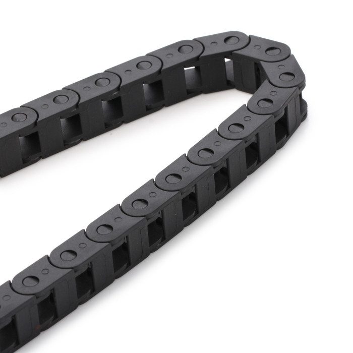 1M Nylon Plastic Drag Chain with 7 x 7mm Internal Bore for 3D Printer