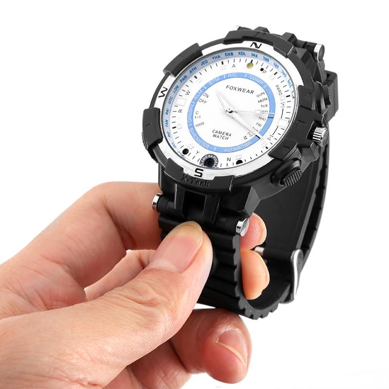 FOXWEAR FOX8 Smartwatch 16GB RAM Night Vision Compass Flashlight WiFi Video