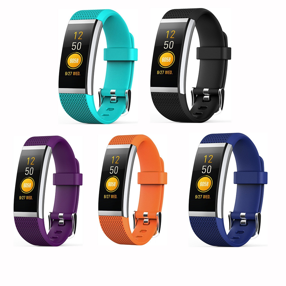 G18S Color Screen Pedometer Smart Wristband Heart Rate Monitor Activity Tracker Smart Bracelet Fitness Tracker