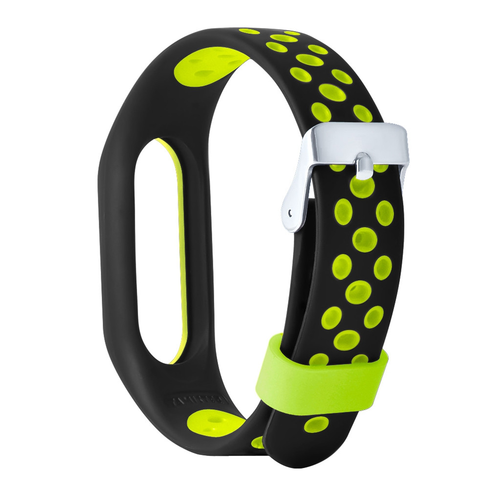M2 Pro TPE Wristband for Xiaomi Mi Band 2 Air Hole Design