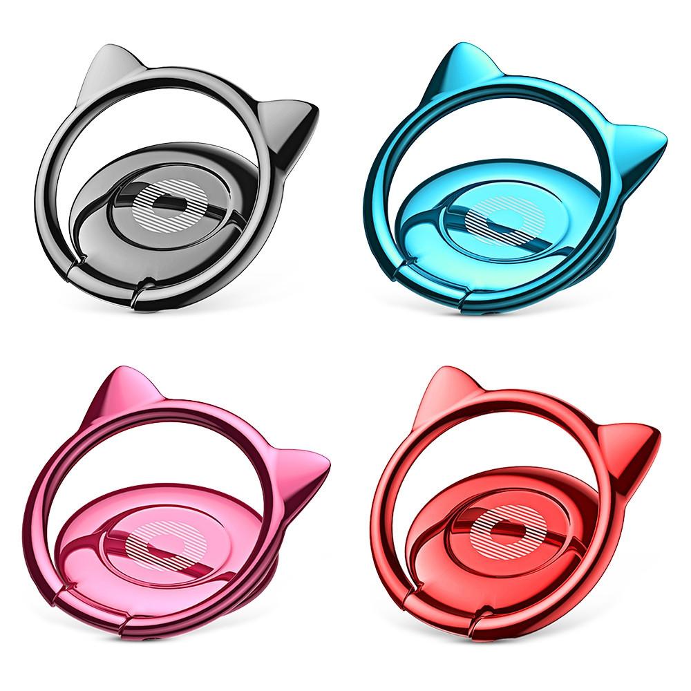 Baseus Cat Ear Ring Bracket Finger Grip Phone Desktop Holder