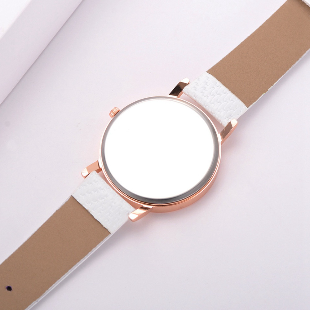 Fanteeda Fd247 Fashion Rose Gold Frame Ladies Watch Simple Alloy Fashion Watch