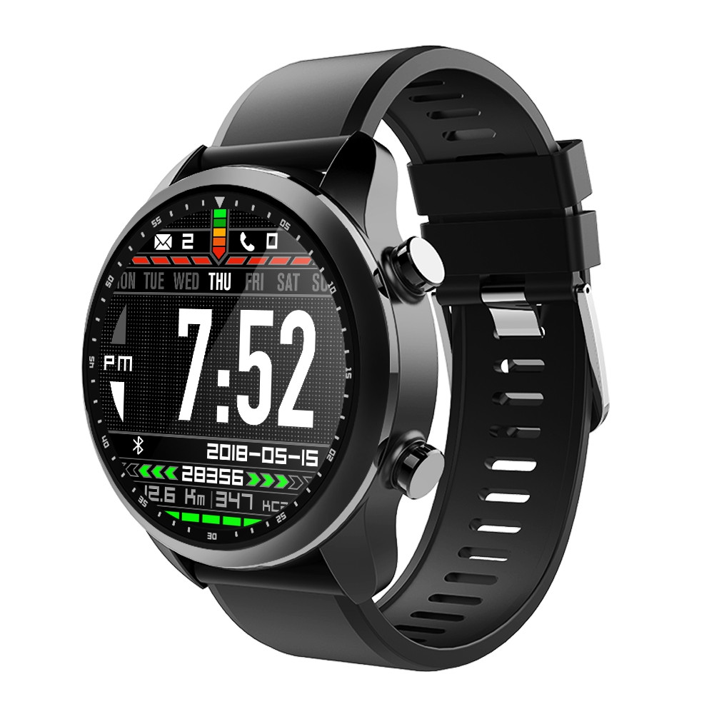 Kospet Brave 4G Smartwatch Phone 1.3 inch Android 6.0 MTK6737 1.2GHz 2GB RAM 16GB ROM IP68 Waterproof 620mAh