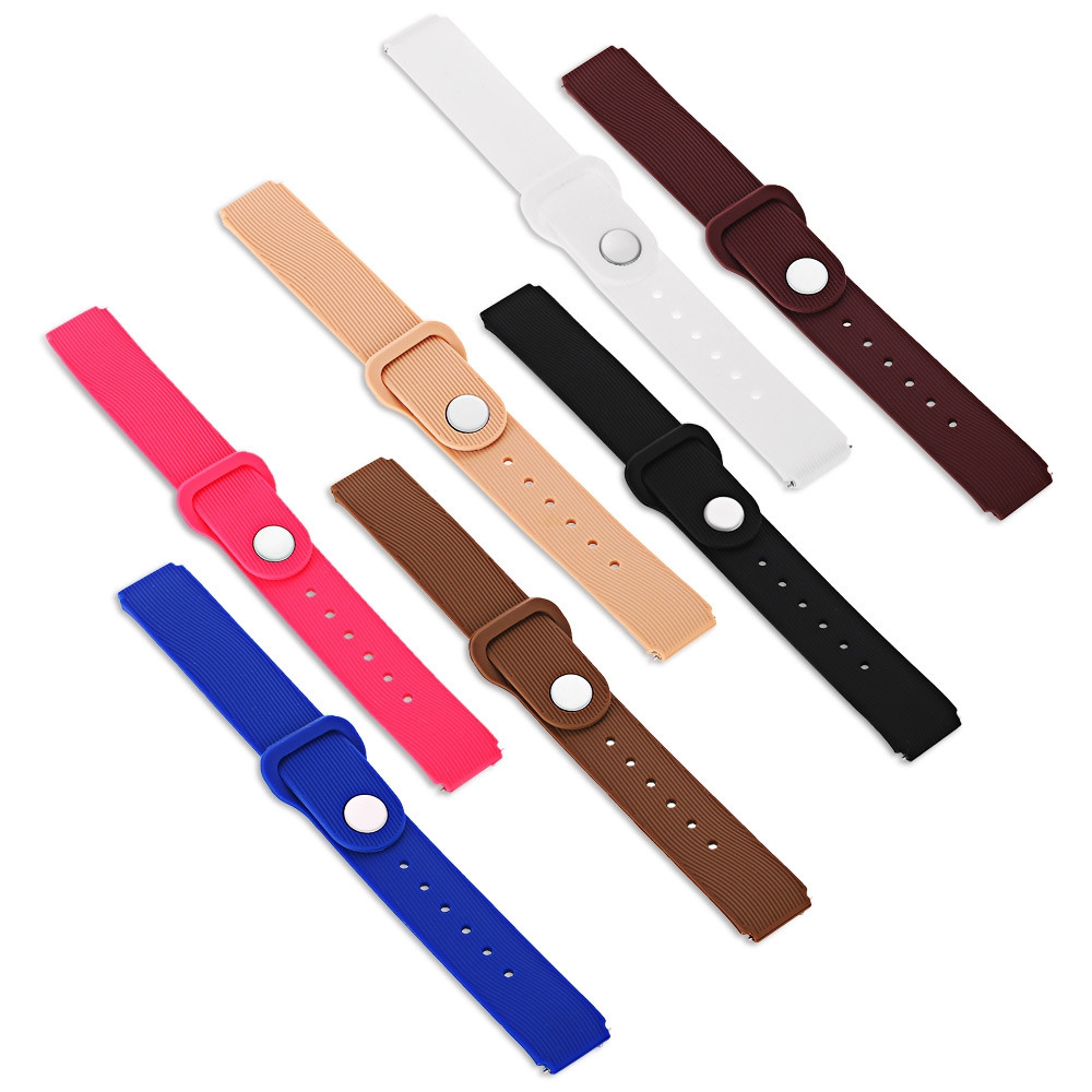 18mm Silicone Band for Huawei Talkband B3 Smartwatch