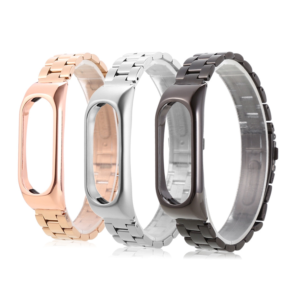 14mm Stainless Steel Strap for Xiaomi Mi Band 2
