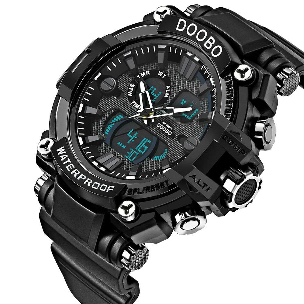 DOOBO D011 4746 Business Casual Men Watch with Box