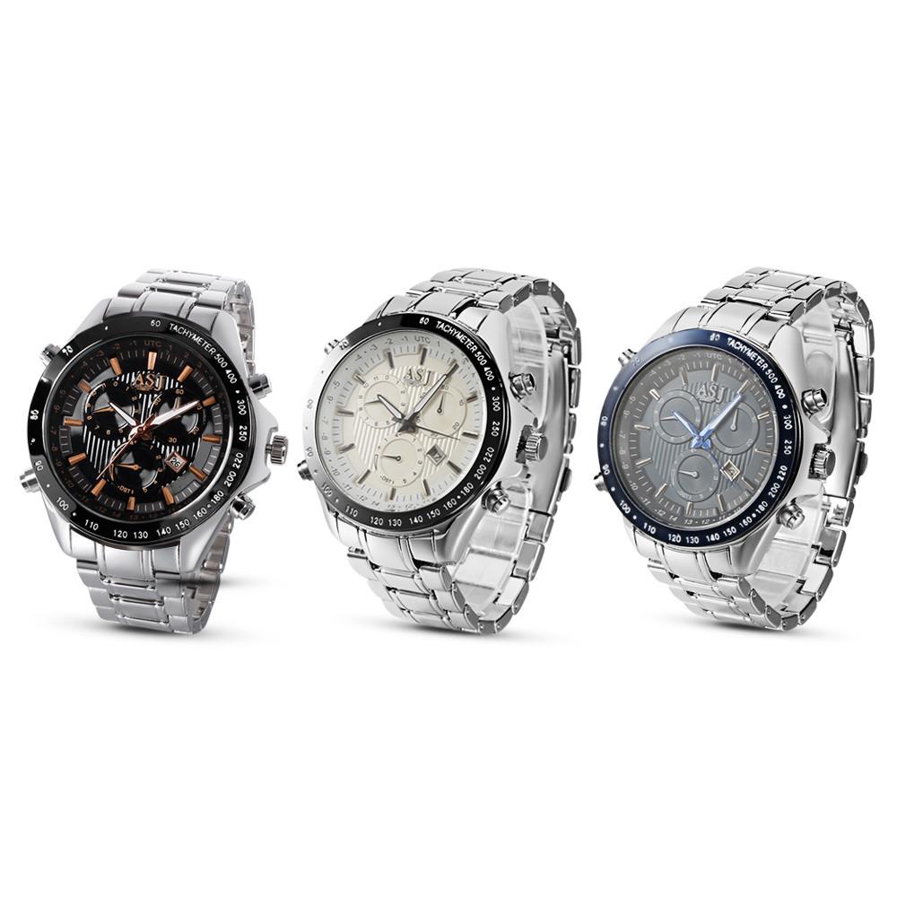 ASJ GP8786 Men Quartz Calendar Watch