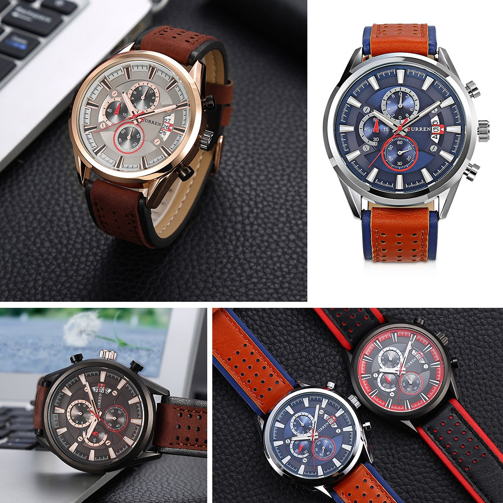 Curren 8290 Male Quartz Watch