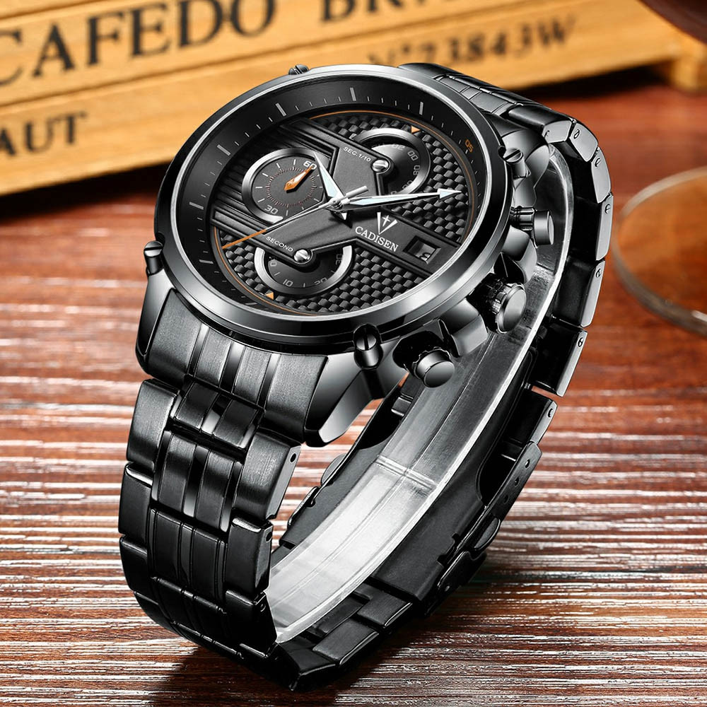 Cadisen C9018 Fashion Men Multifunctional Waterproof Quartz Watch