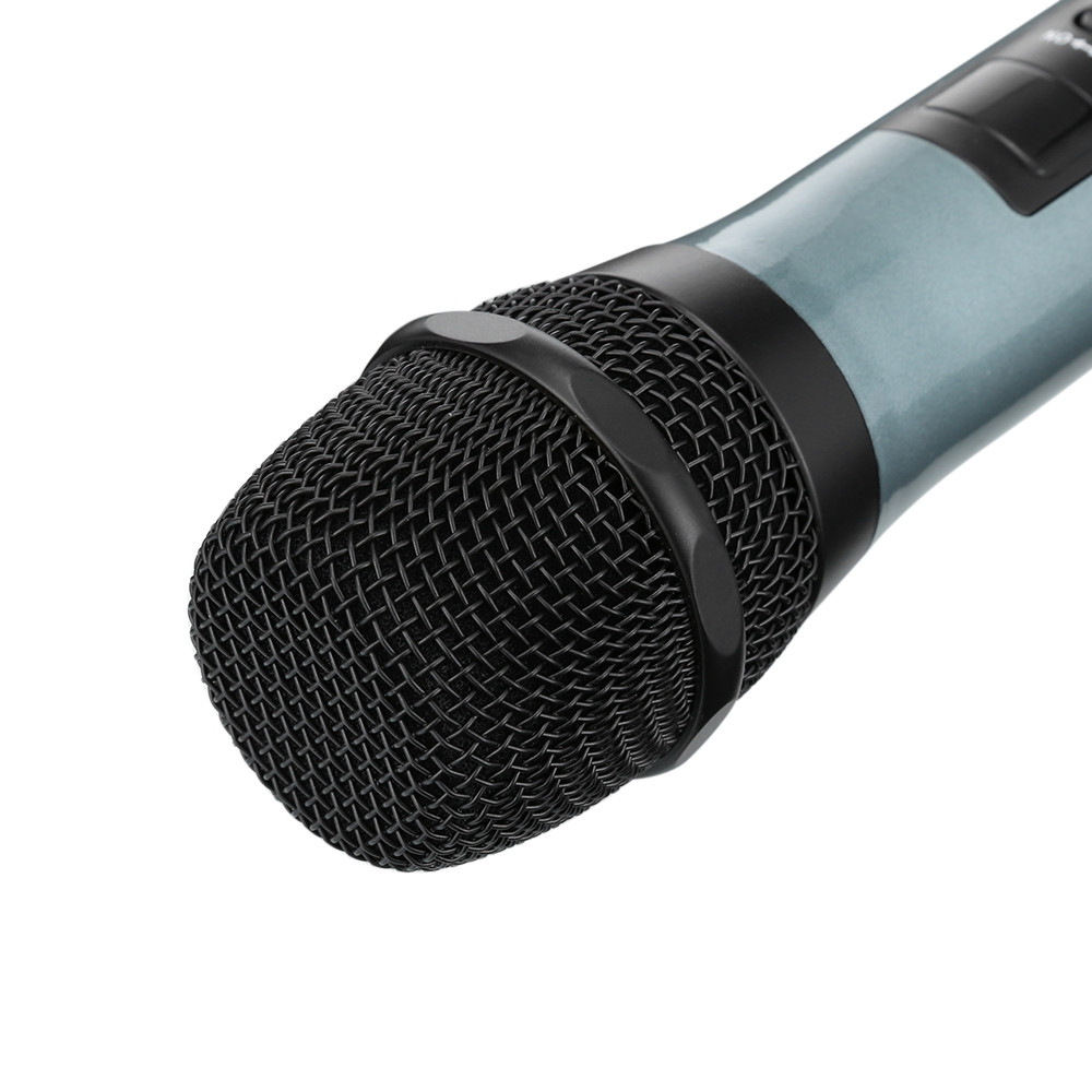 MV - 878 Wireless Handheld Microphone UHF Dual Channel