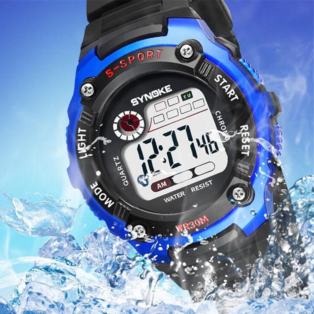 LED Digital Children Watch Kids Watches Girl Boy Clock Electronic Sport Wristwatch