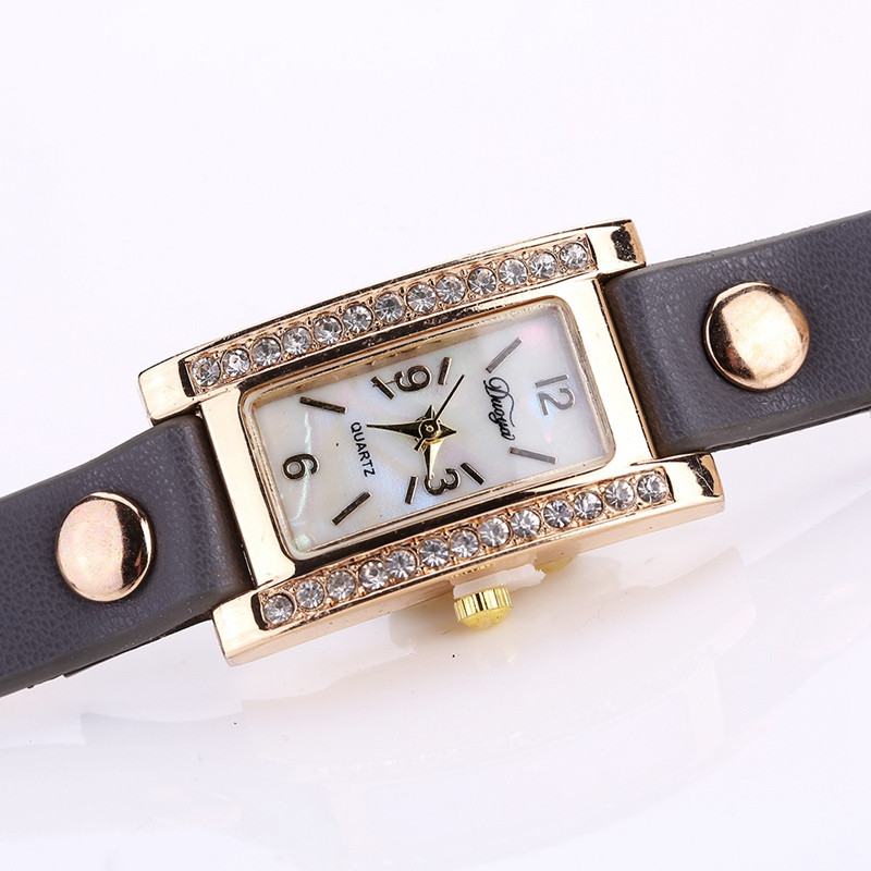 Duoya D132 Women Bracelet Watch Lady Watch Fashion GREY