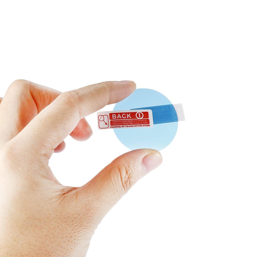 2PCS For Xiaomi AMAZFIT Smart Watch Protective Film TRANSPARENT