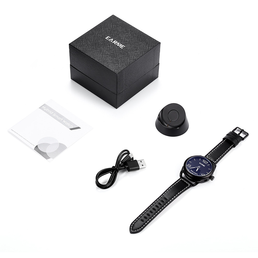EARME Z18 Smartwatch Waterproof Touchscreen Wristwatch BLACK