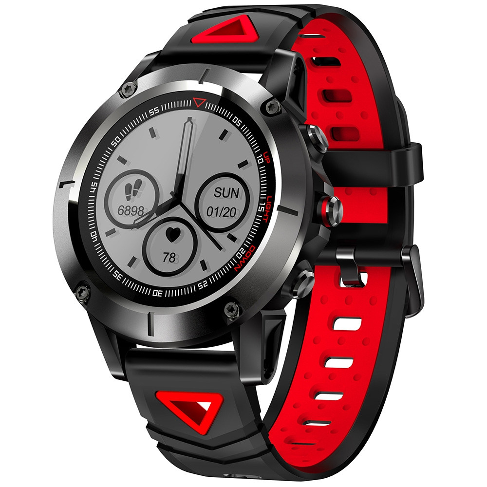 G01 1.05 inch Sports Smart Watch Bluetooth 4.0 IP68 Waterproof Call / Message Reminder Heart Rate Monitor Sleep Monitoring Functions GRAY