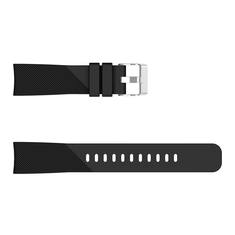 20mm Sport Silicone Wrist Strap for Xiaomi Huami Amazfit Bip Youth BLACK