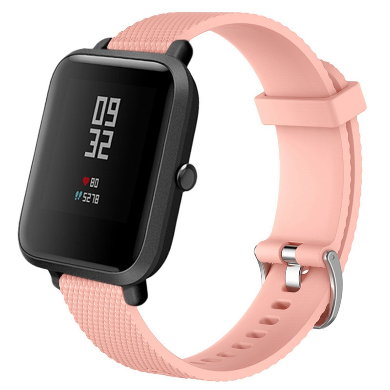 20mm Smart Watch Band for Xiaomi Amazfit Bip Youth PINK