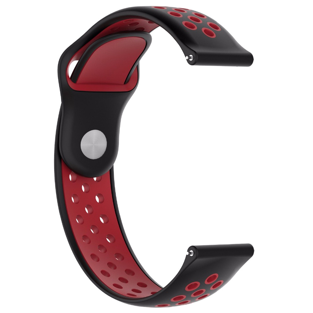Breathable Replacement Wrist Band Strap for Amazfit Smartwatch 2 / 2S  BURGUNDY