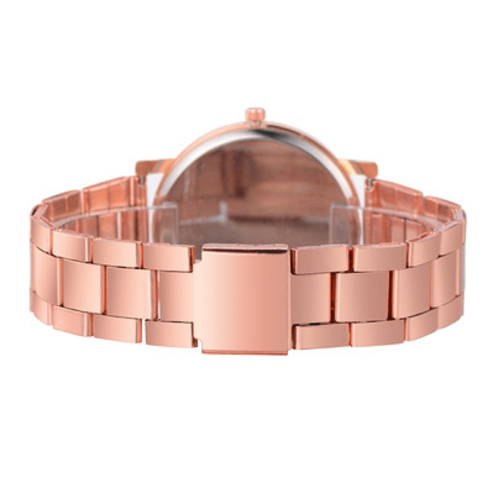 A Diamond-Inlaid Steel with A Quartz Watch ROSE GOLD REGULAR