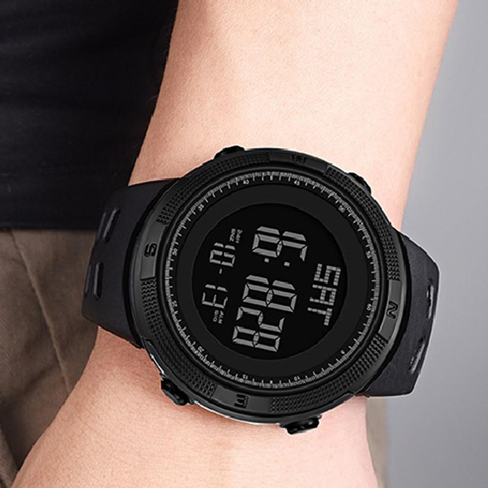 PANARS Men Digital Watch with Plastic Band  BLACK