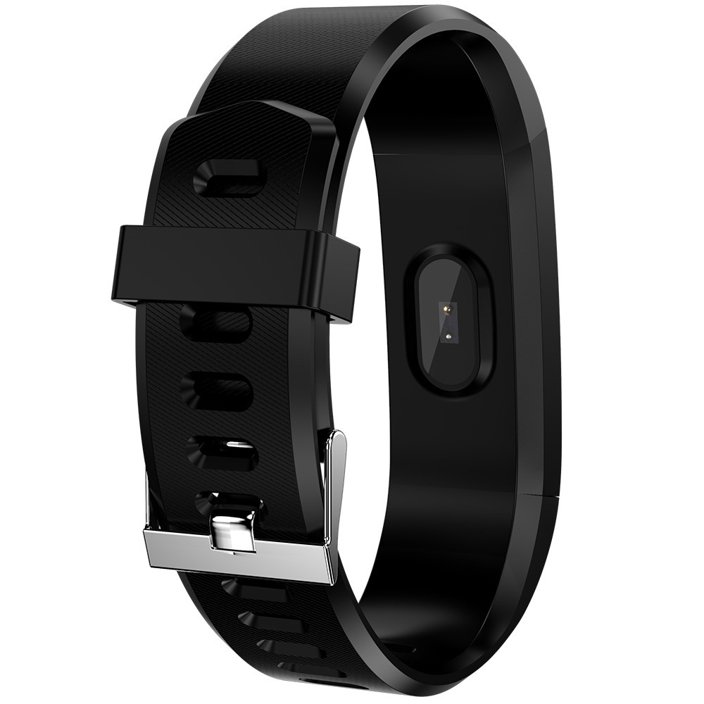 115Plus Smart Bracelet 0.96 inch ST - 17H25 16KB RAM 512KB ROM Heart Rate Monitor Step Count Sedentary Reminder IP67 80mAh Built-in BLACK