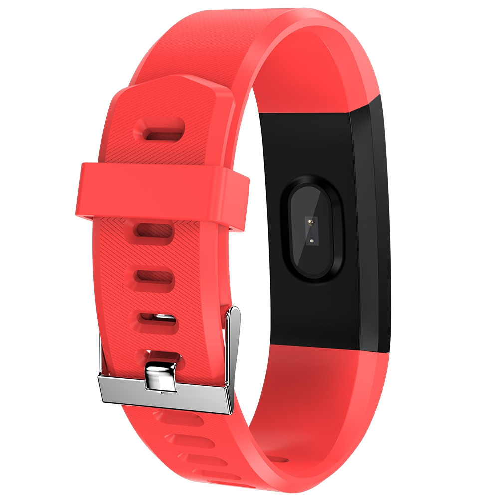 115Plus Smart Bracelet 0.96 inch ST - 17H25 16KB RAM 512KB ROM Heart Rate Monitor Step Count Sedentary Reminder IP67 80mAh Built-in RED