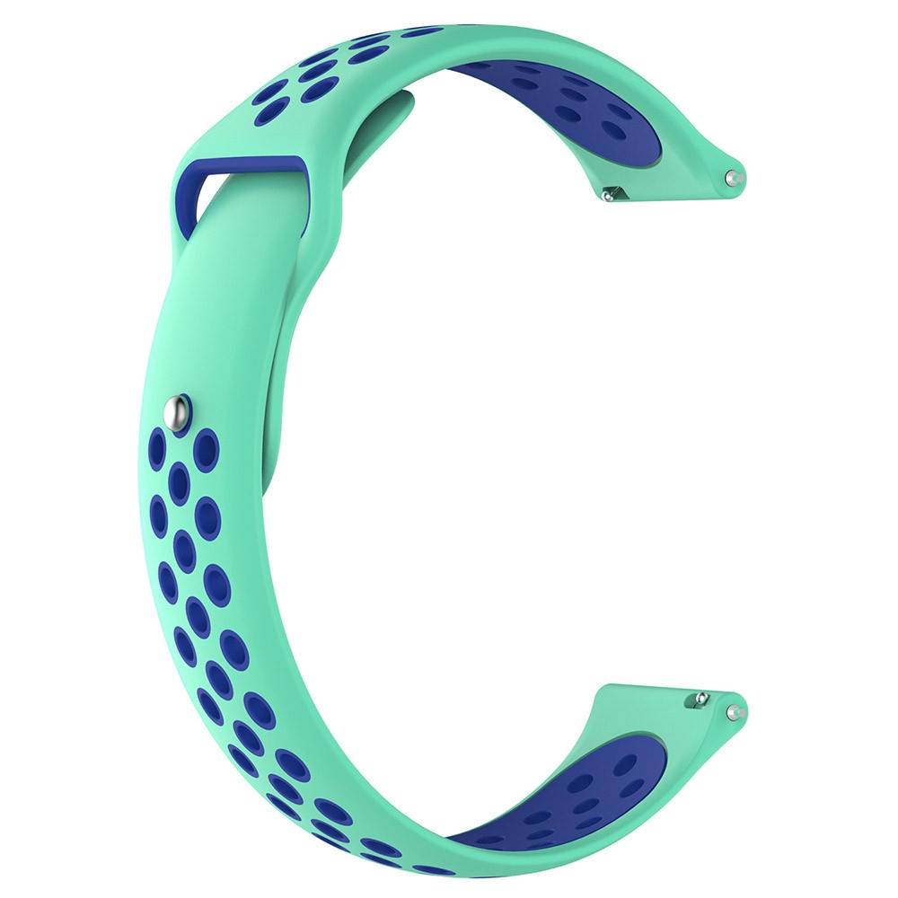22MM Replacement Soft Silicone Sport Watch Band Strap For Galaxy Watch 46MM LIGHT AQUAMARINE
