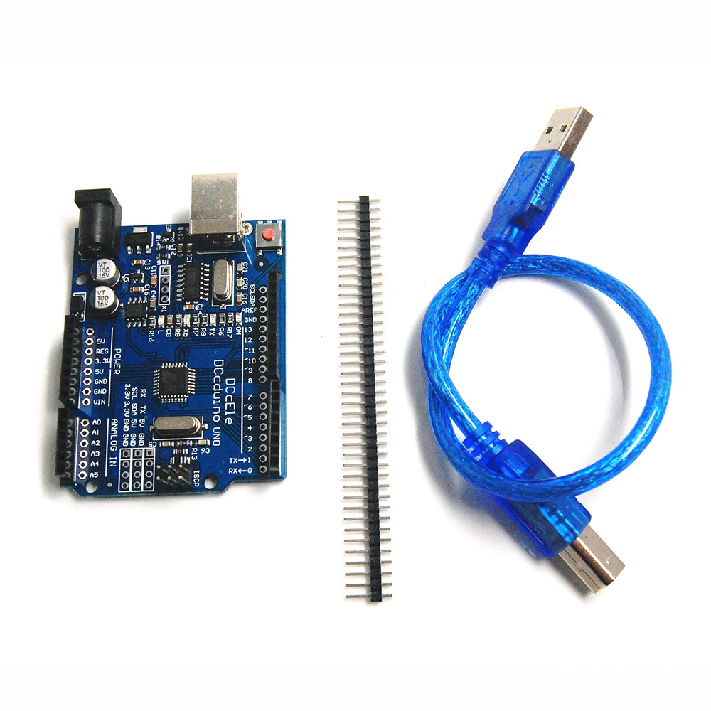 Improved Version  R3 Arduino UNO Development Board with Free USB Cable
