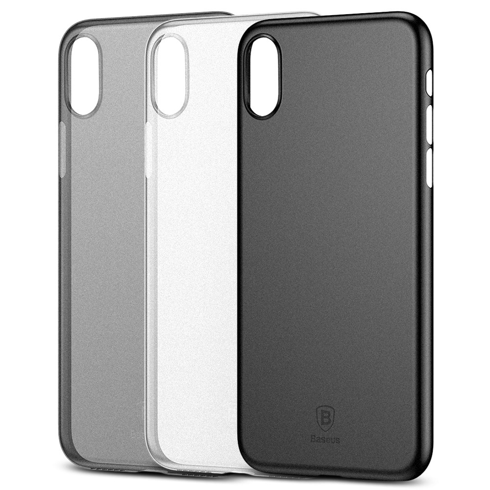 Baseus Wing Case Ultra Slim PP Back Cover for iPhone X